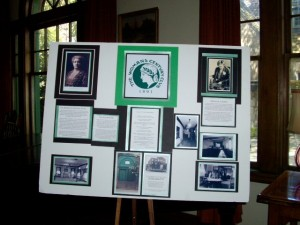 Woman's Century Club display
