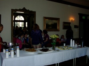Refreshments Table