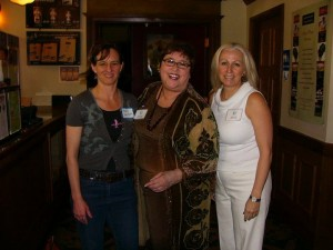 Malory Graham, Celeste Smith, and Kaye Marks